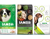 IAMS Mega Brand Paw Strategy + Package Design