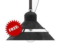 Industrial Lamp - Free 3d model