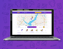 Getir App - Web Design - 2017