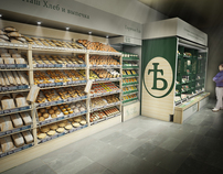 Concept for a Moscow Supermarket Presentation Display