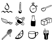 Tea Icons (Vector)
