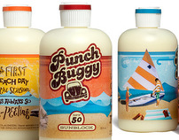 Punch Buggy Sunscreen, Brand Identity & Logo Design