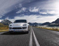 The new Cayenne. To the Point.