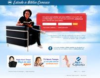 Solicitação de cursos Bíblicos