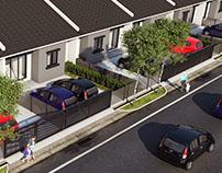 Low Cost Terrace Housing Development