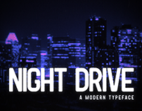 Night Drive Font