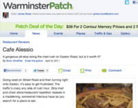 Warminster Patch Food Review 4.09.11