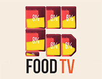 Food Tv - Brand and Idents