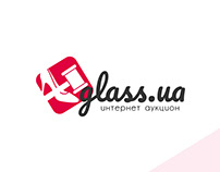 Glass.ua auction logo