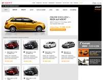 eSEAT. Neuwagen website