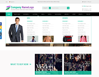 Garments Website Design