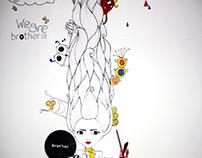 Mural Brother Escuela de Creativos