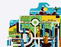 Mapetka / Promo Illustration Belcdesign 2015