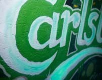 Carlsberg graffiti