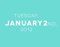 Chester Calendar - iPad App