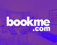 bookme.com // logo + branding + banners