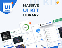 Elemento UI Kit - Library of Components for web