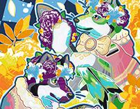 Aro/Ace Flower Garden