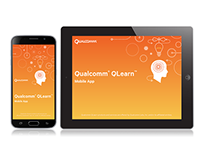 QLearn mobile & tablet app splash screen design