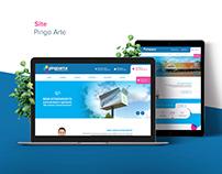 Site Pingo Arte