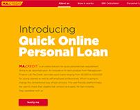 ma.credit - online personal loan platform