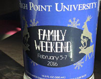 Winter Family Weekend Water Bottle