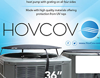 HovCov Package Label Design