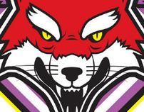 DJ K-Rock Logo Branding