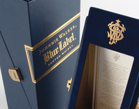 Johnnie Walker Blue Label Limited Edition Packaging