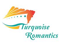 Turquoise Romantics Cruise line Advertisments and logo