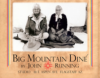 NAVAJO PEOPLE - BIG MOUNTAIN DINE