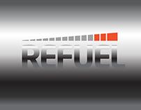 Refuel - Sports Nutrition Store, Logo Design