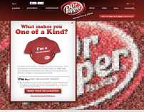 Dr Pepper - Always One of A Kind + Homepage
