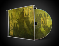 MF Magazine Metal Compilation Album Cover Design