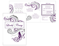 Bengfort/Thurman Wedding Invitation