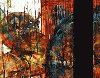 Original Modern Abstract Paintings By Artist Kris Haas