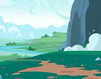 Quick Cartoon Landscapes