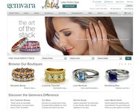 Gemvara Web Design