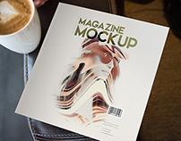 13 Square Magazine Mockups Vol. 5