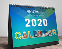 ICM 2020 Desk Calendar