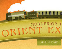 Murder on the Orient Express – Alibi map