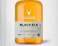 BlackFork Bourbon Whisky - Brand&Identity - Product La