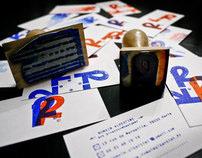 Visit Cards Stamped