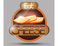 Eat Cheese Logo idea