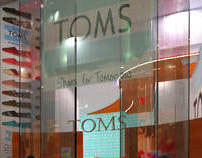TOMS Flagship Store, Westfield Stratford