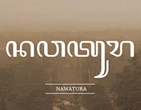 Javanese font: Nawatura