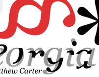 Georgia Typographic Poster
