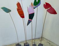 Sonja Burgerjon, schilderijen, beelden & installaties