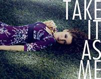 TAKE IT AS ME