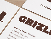 Grizli Agency Visual Identity